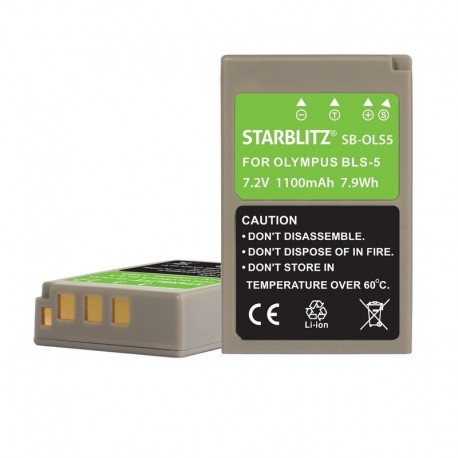 Batterie compatible Olympus PS-BLS5