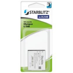 Batterie Starblitz compatible Olympus Li-50B