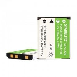 Batterie Starblitz compatible Olympus Li-40B/42B