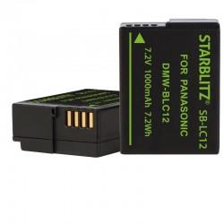 Batterie Starblitz compatible Panasonic DMW-BLC12+