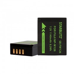 Batterie Starblitz compatible Fujifilm NP-W126