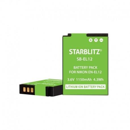 Batterie compatible Nikon EN-EL12