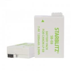 Batterie Starblitz compatible Canon LP-E8