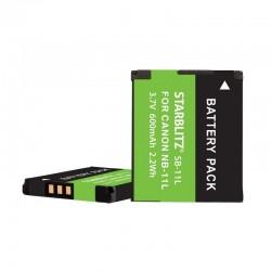 Batterie Starblitz compatible Canon NB-11L