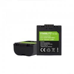 Batterie rechargeable Starblitz équivalent Panasonic CGA-S006 DMW-BMA7