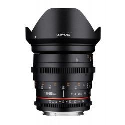 Objectif Samyang 20mm T1.9 VDSLR Sony E