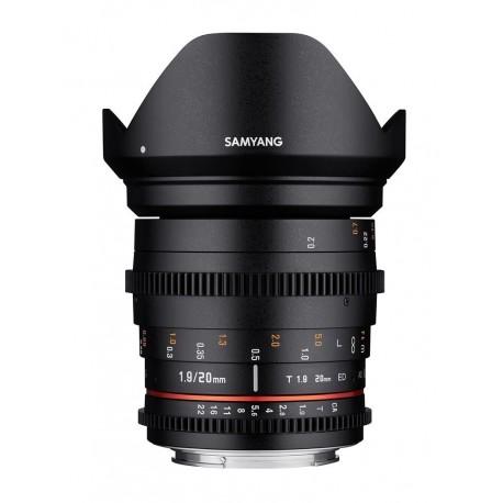 Samyang 20mm T1.9 VDSLR Sony E