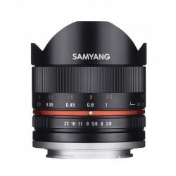 Samyang 8 mm F2.8 II Sony E Noir