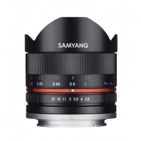 Samyang 8mm F2.8 II Sony E Noir