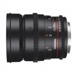 Objectif Samyang 24mm T1.5 VDSLR II Sony E