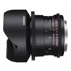 Objectif Samyang 14mm T3.1 VDSLR II Sony E