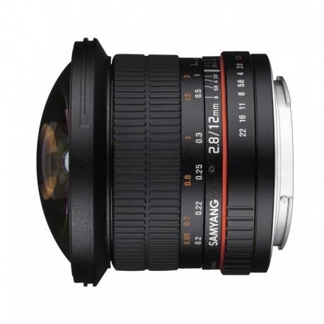 Samyang 12mm F2.8 Fisheye ED AS NCS Nikon AE
