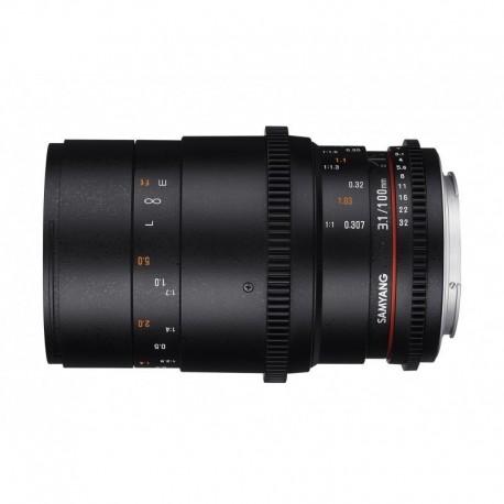 Samyang 100mm T3.1 Macro VDSLR Nikon