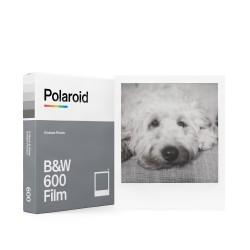 8 poses film Noir et blanc pour appareils instantanés Polaroid 600