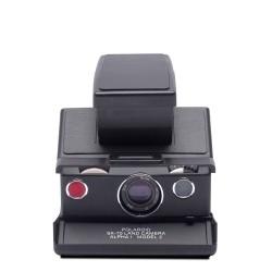 Polaroid SX-70™ Camera - Black-Black