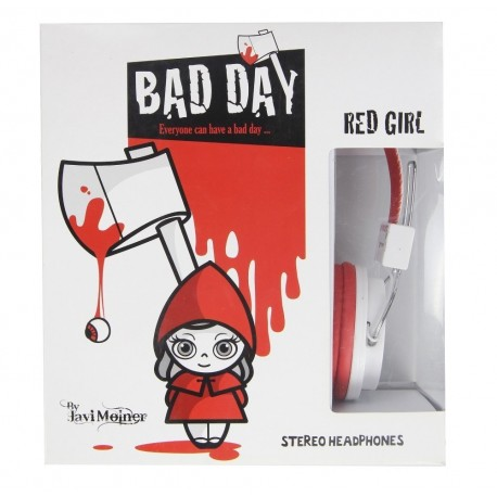 Casque On.Earz COMICZ Bad Day Red Girl