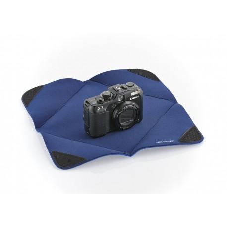 Protection APN, Objectif en tissu-mousse 28x28 Blue