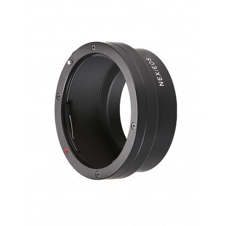 Adaptateur optique manuelle monture EF pour Sony E