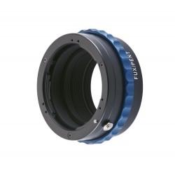 Adaptateur Novoflex pour optique Pentax K sur boitier Fuji X