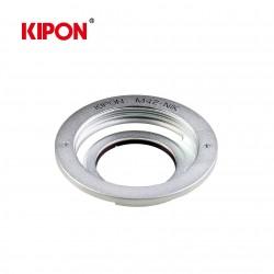 Bague mécanique pour optique M42 sur boitier Nikon