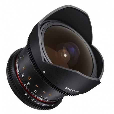 Samyang 8mm T3.8 Fish-eye CS II VDSLR II Sony E