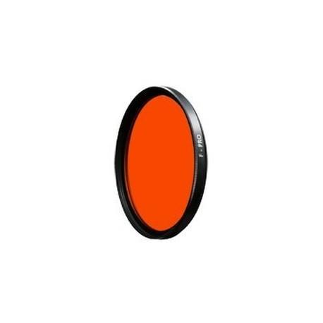 ++BW 041 Filtre rouge-orange F-PRO - 72 mm ++