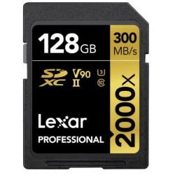 SDXC128GB 2000X Professional UHS-II (U3)