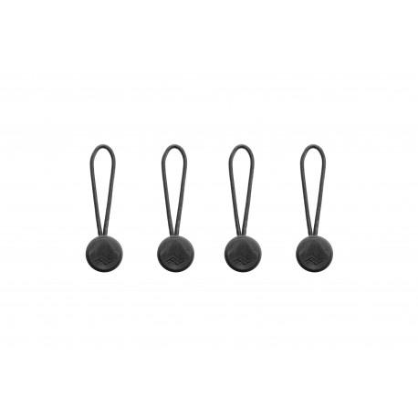 Peak Design Lot de 4 micro attaches - coloris noir