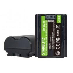 STARBLITZ Batterie compatible Fujifilm NP-W235 pour X-T4