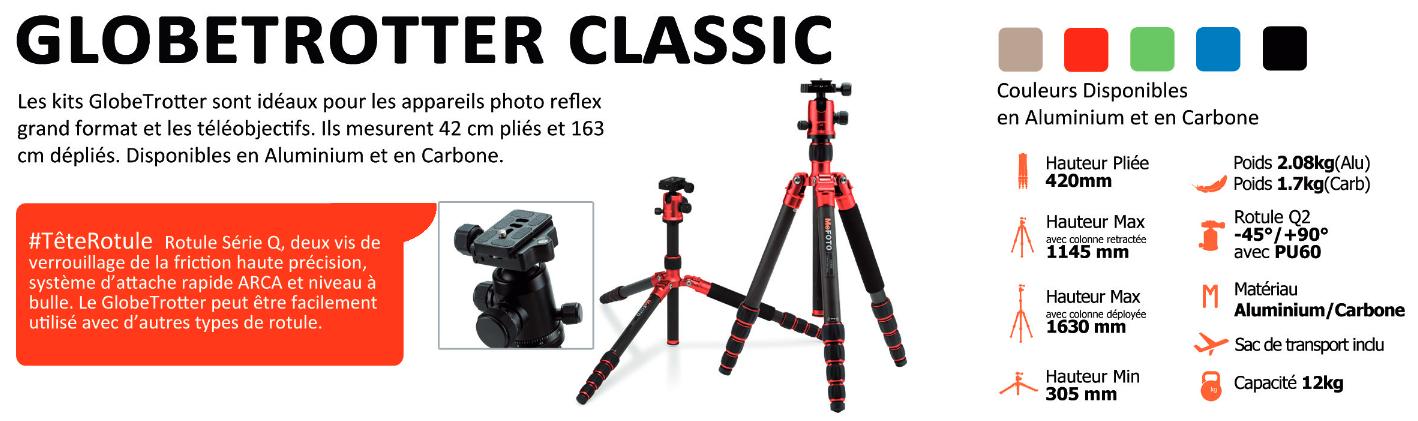 MeFoto-Série Globetrotter Classic